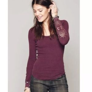 Free People We The Free Synergy Cuff Thermal Top